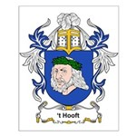 t' Hooft Coat of Arms Small Poster