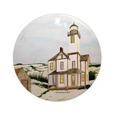 Mispillion Lighthouse Ornament (Round)