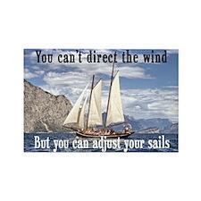 """""""Adjust Your Sails"""" Rectangle Magnet"""