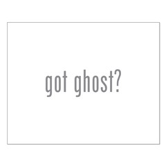 Got ghost? Posters