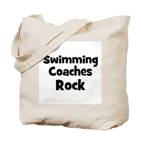 SWIMMING COACHES Rock Tote Bag
