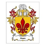 Hoen Coat of Arms Small Poster