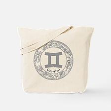 Gemini Zodiac sign Tote Bag