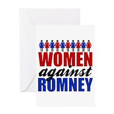 Women Against Romney Greeting Card
