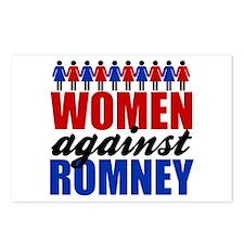 Women Against Romney Postcards (Package of 8)