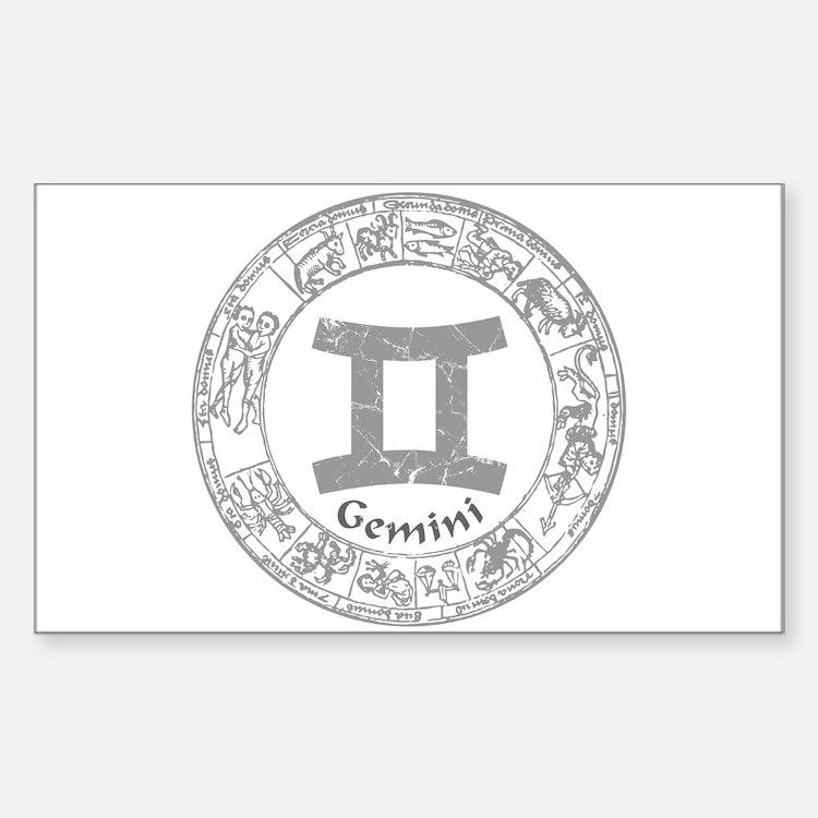 Gemini Zodiac sign Bumper Stickers
