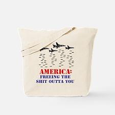 America Freeing You Tote Bag