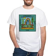 straightnotnarrow square png T-Shirt