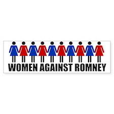Women Against Romney Bumper Sticker