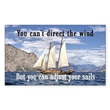 """Adjust Your Sails"" Decal"