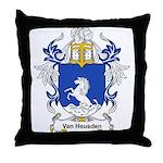 Van Heusden Coat of Arms Throw Pillow