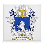 Van Heusden Coat of Arms Tile Coaster