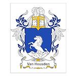 Van Heusden Coat of Arms Small Poster