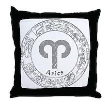 Aries Zodiac sign Throw Pillow