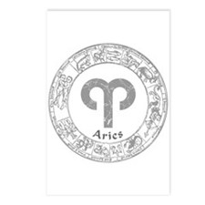 Aries Zodiac sign Postcards (Package of 8)