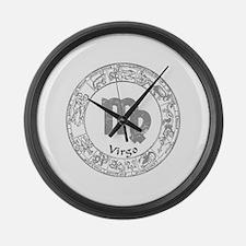 Virgo Zodiac sign Large Wall Clock