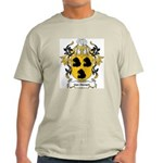 Van Hemert Coat of Arms Ash Grey T-Shirt