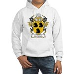 Van Hemert Coat of Arms Hooded Sweatshirt
