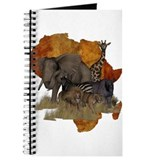 Africa Journals & Spiral Notebooks