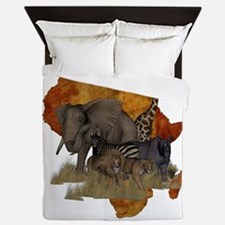 Safari Queen Duvet