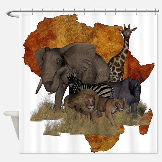 Safari Shower Curtain