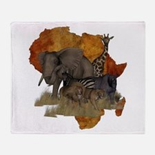 Safari Throw Blanket
