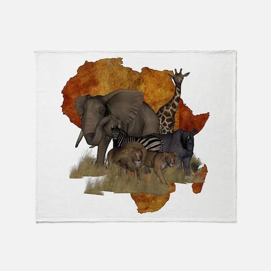 Safari Throw Blanket