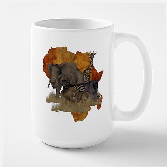 Safari Large Mug