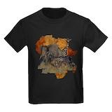 African safari Kids T-shirts (Dark)