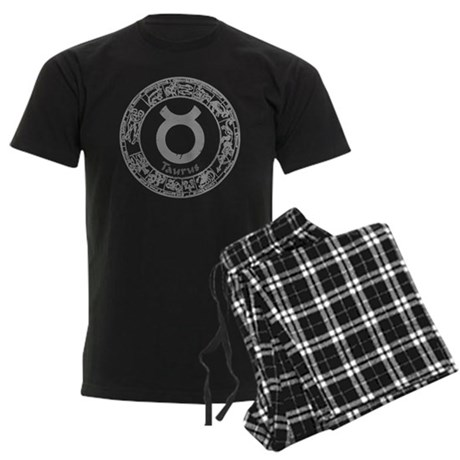 Taurus Zodiac sign Men's Dark Pajamas