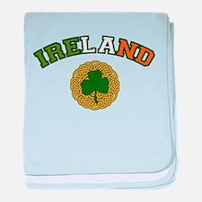 Ireland Collegic baby blanket