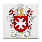 Van der Hell Coat of Arms Tile Coaster