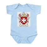 Van der Hell Coat of Arms Infant Creeper