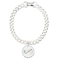 Unique Flutes Charm Bracelet, One Charm