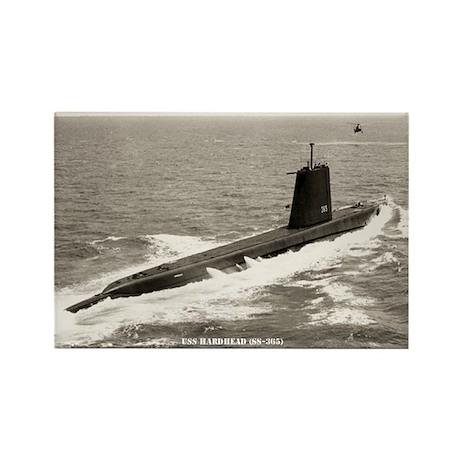 USS HARDHEAD Rectangle Magnet
