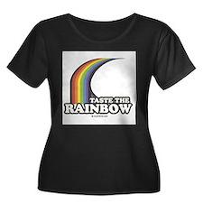 Cute Taste the rainbow T