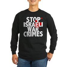 2-war_crimes_dark Long Sleeve T-Shirt