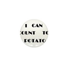 Potato Mini Button (10 pack)