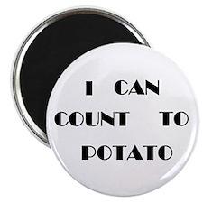 """Potato 2.25"""" Magnet (100 pack)"""