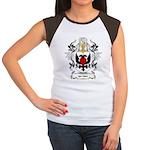 ten Ham Coat of Arms Women's Cap Sleeve T-Shirt