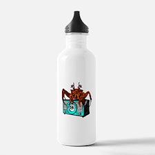 Crab Radio Water Bottle