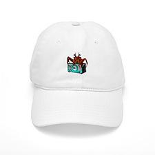 Crab Radio Baseball Cap