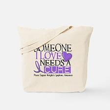 Needs a Cure 1 Hodgkin's Lymphoma Tote Bag