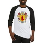 de Haes Coat of Arms Baseball Jersey