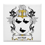 ten Haaf Coat of Arms Tile Coaster