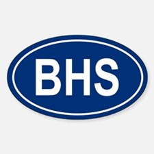 BHS Oval Decal