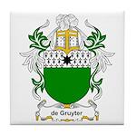 de Gruyter Coat of Arms Tile Coaster