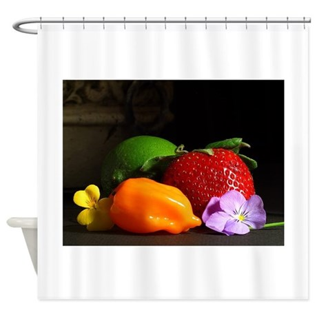 Picturesque Still Life Shower Curtain