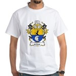 de Graaf Coat of Arms White T-Shirt
