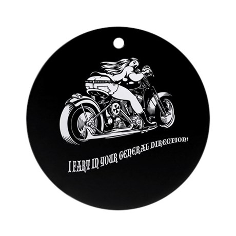 I Fart In Your Direction Ornament (Round)